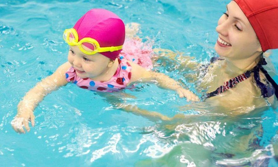 Начинаются занятия группы «Мать и дитя»в ФОКе «Энергия» для обучения плаванию детей