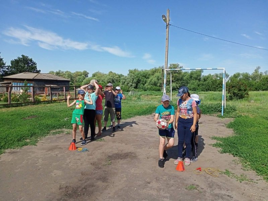 Летний отдых в школе села Карамышка