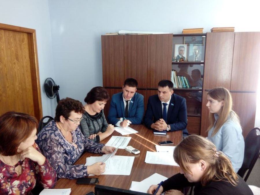 Состоялось заседание комиссии по увеличению налоговой базы