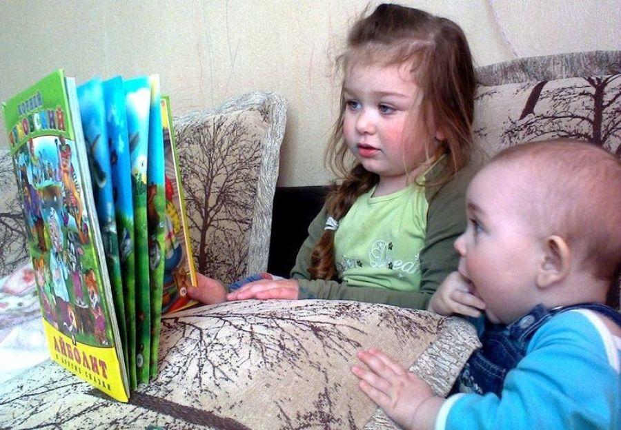 У нас в семье все дружат с книгой