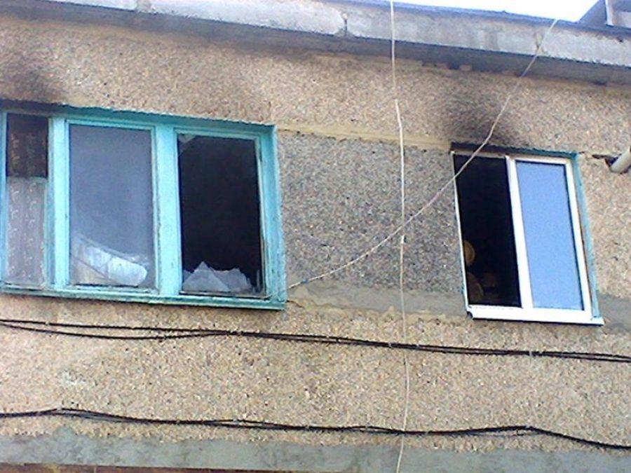 В Татищево горел дом