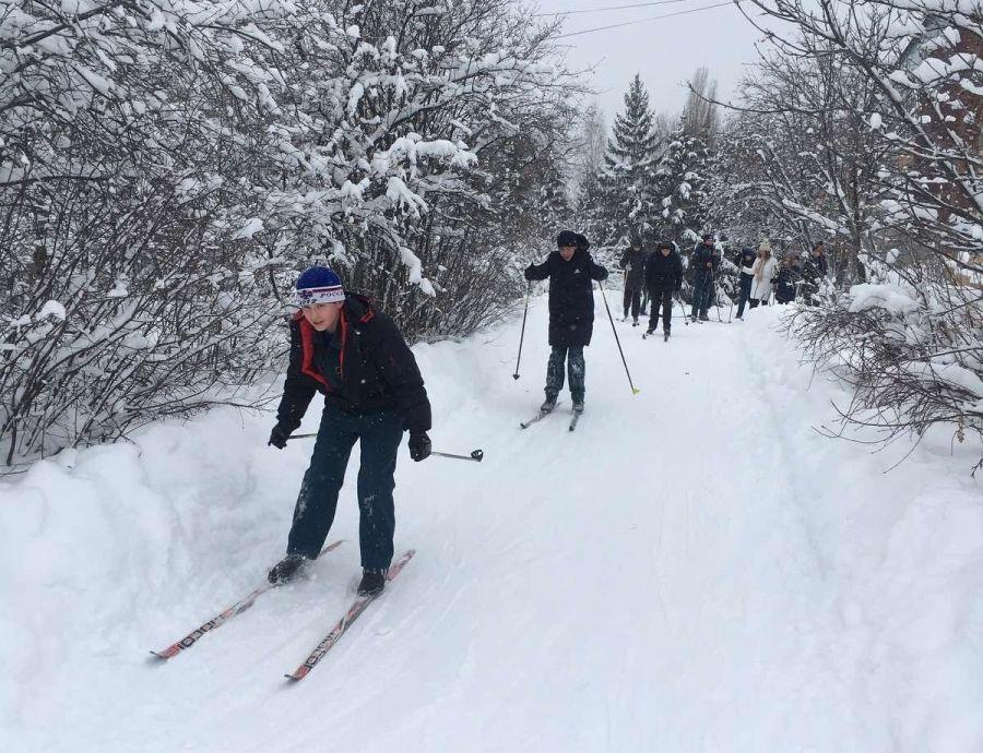 Встали на лыжи