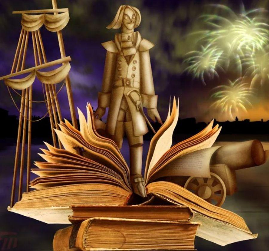 Со страниц любимых книг – в мрамор, бронзу и гранит