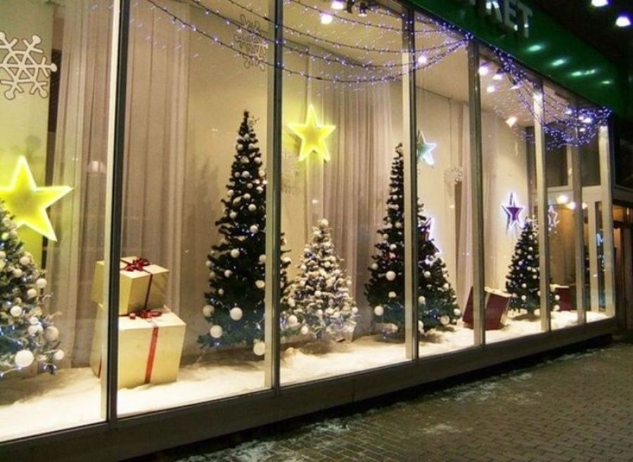 Новогоднее оформление – привлекаем покупателя