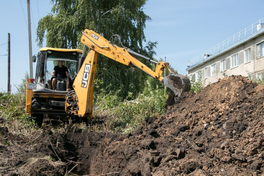 Ремонт канализационной системы в р.п.Татищево