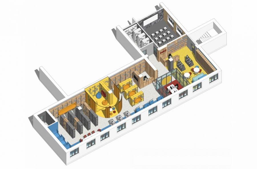 Начались работы по созданию модельной библиотеки в селе Вязовка