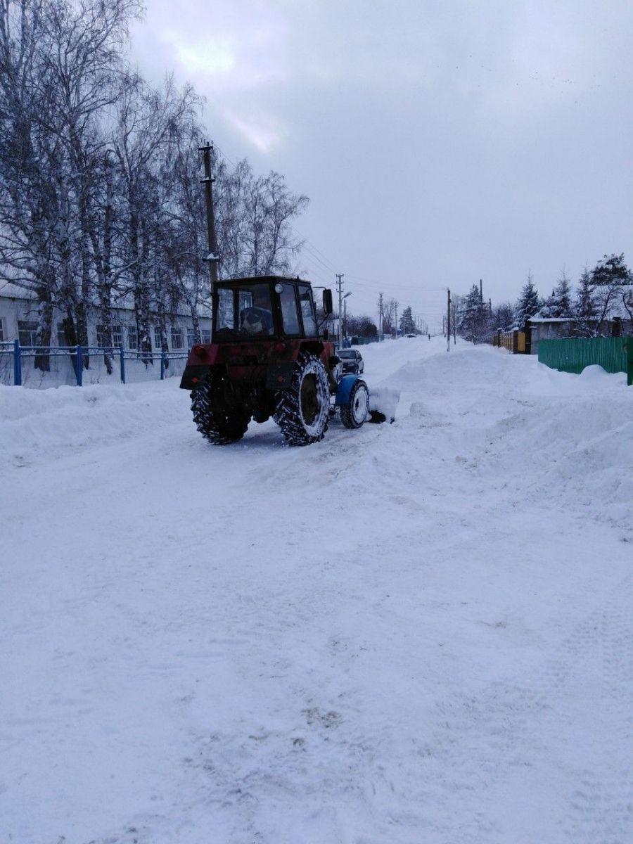 Зимнее содержание дорог в Садовском муниципальном образовании