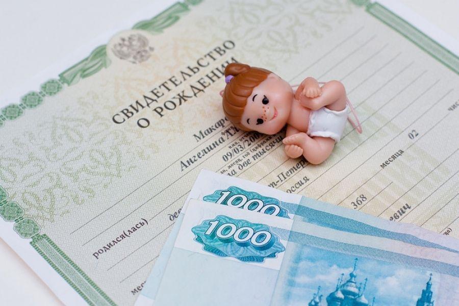 Ведется прием заявлений для назначения ежемесячной выплаты в связи с рождением (усыновлением) первого ребенка