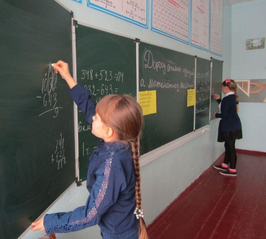 Неделя математики в Сокурской школе