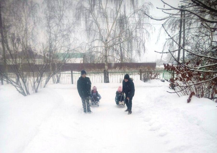 Зимние народные игры
