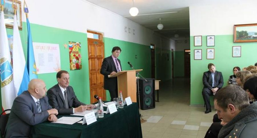 Собрание актива Идолгского муниципального образования