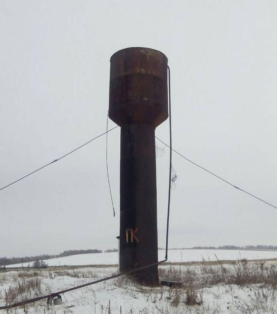 Ремонт водопровода в селе Карамышка