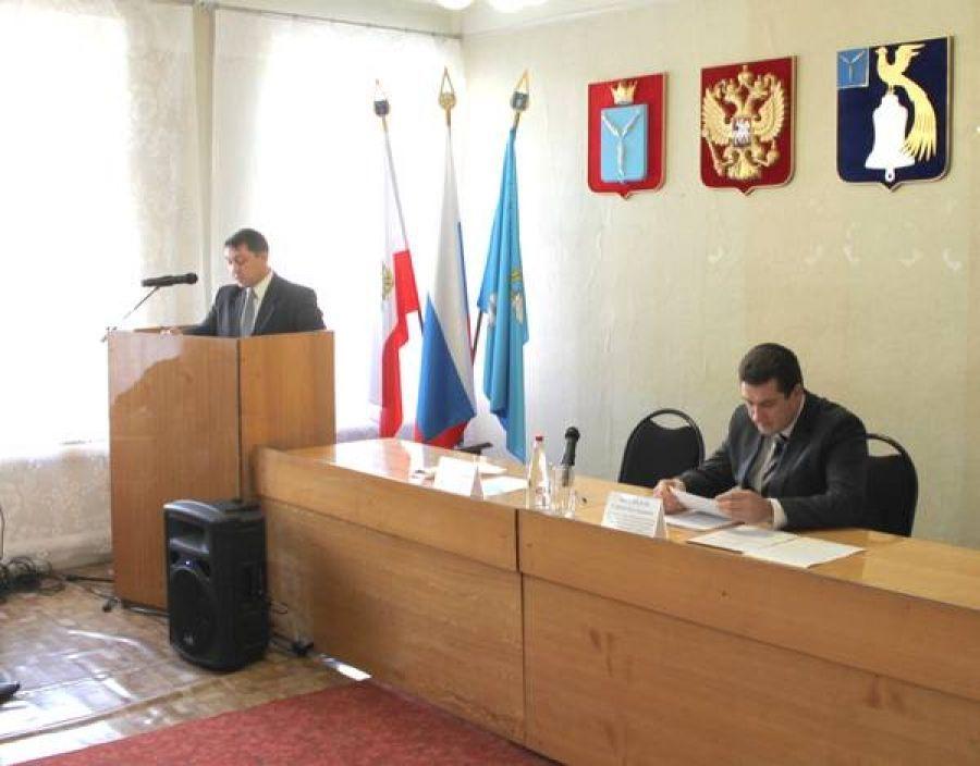 Собрание актива Октябрьского муниципального образования