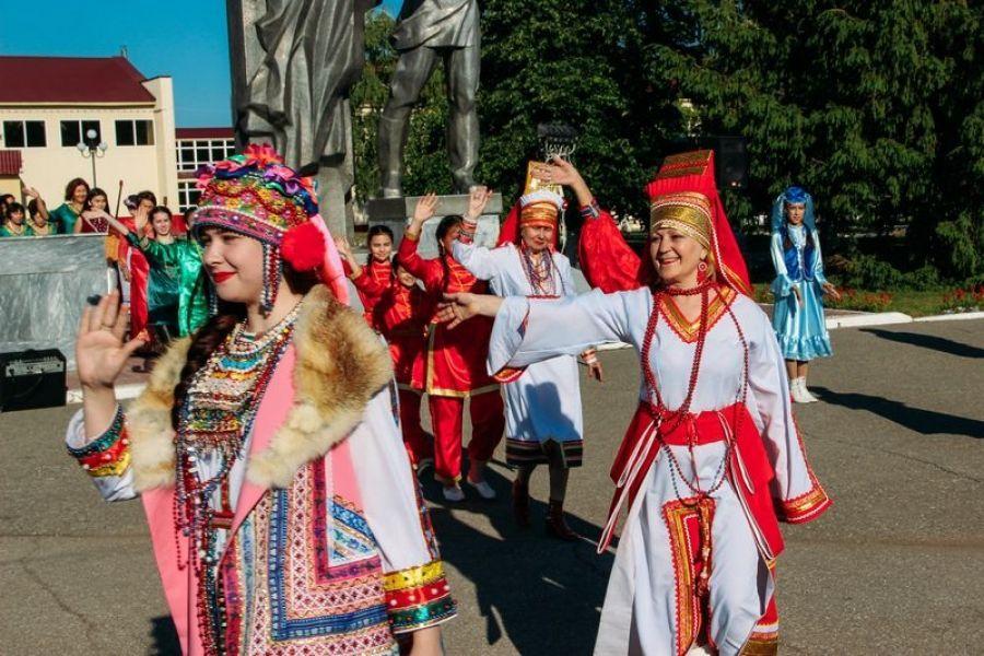Парад дружбы и национальных культур