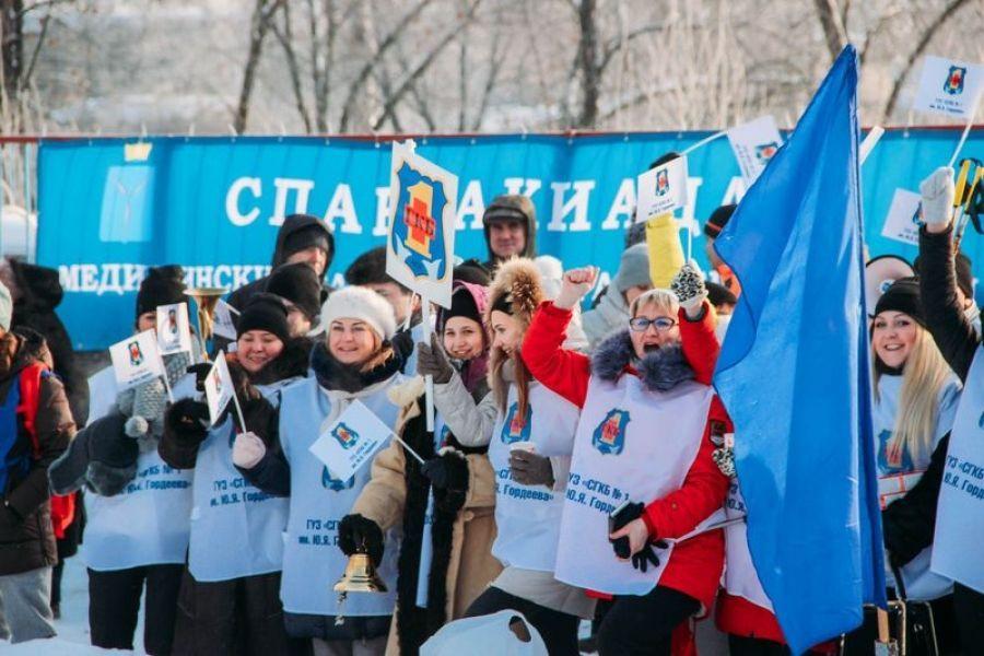 Зимняя Спартакиада работников здравоохранения прошла в Татищевском районе