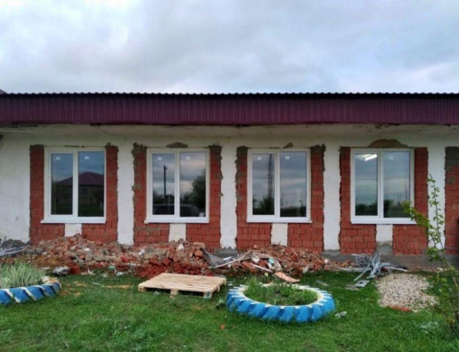 Ремонтные работы в Куликовском сельском клубе