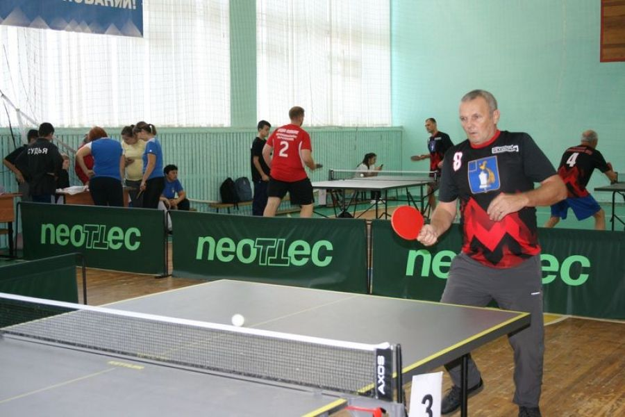 Стартовали соревнования на Кубок главы по настольному теннису в личном зачете