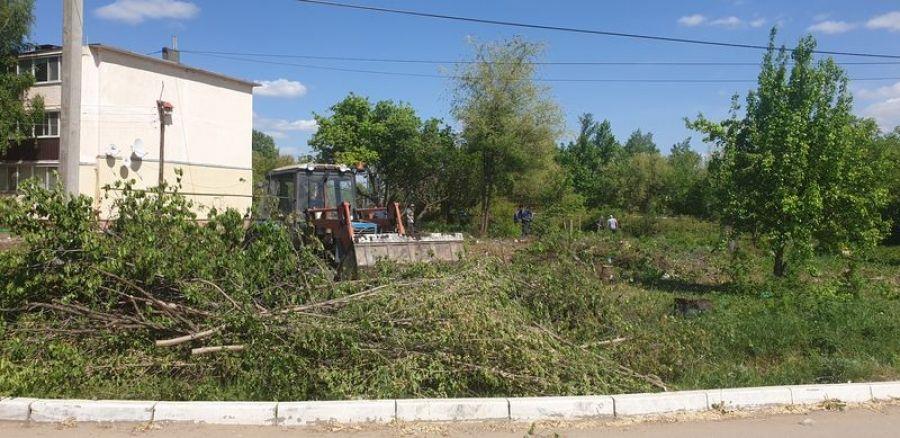 Подготовка территории по реализации национального проекта «Формирование комфортной городской среды» в Татищевском муниципальном районе