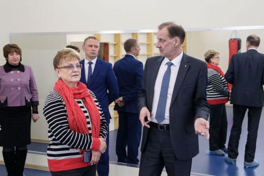 Ольга Алимова с рабочим визитом посетила Татищевский район