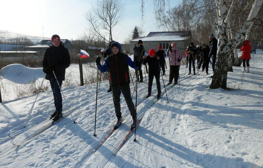 Лыжные гонки в селе Курдюм