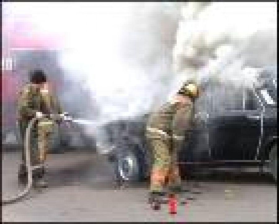 Огню всё равно – что машина, что баня…