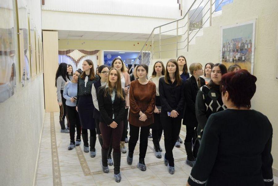 Будущие учителя русского языка и литературы  в гостях у Татищевского района