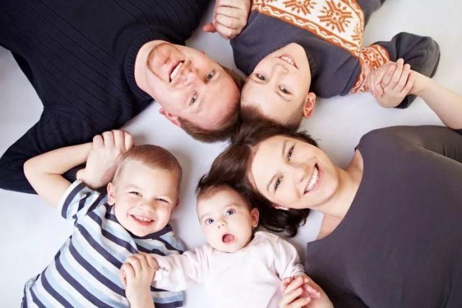 Многодетным семьям – социальная поддержка, вне зависимости от уровня доходов