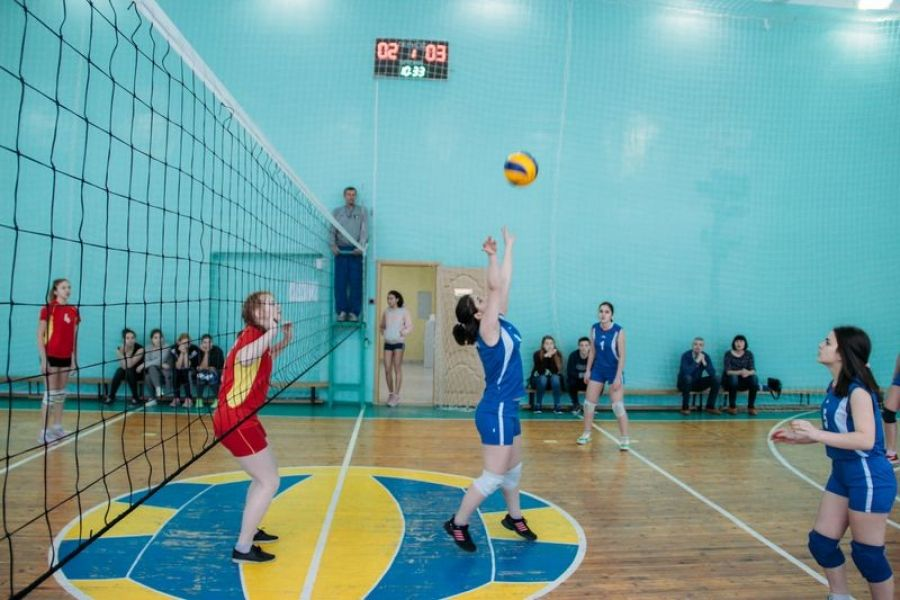 Первенство ДЮСШ по волейболу