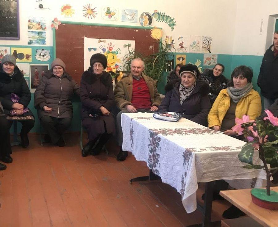 В селе Карякино переизбран староста