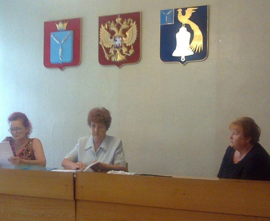 Заседание общественного Совета Октябрьского муниципального образования