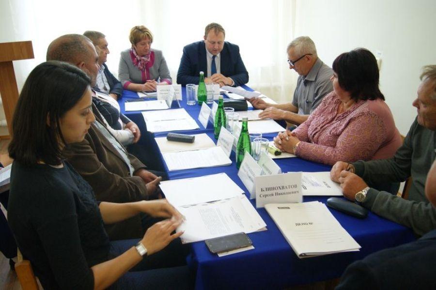 Заседание Совета депутатов в Октябрьском МО