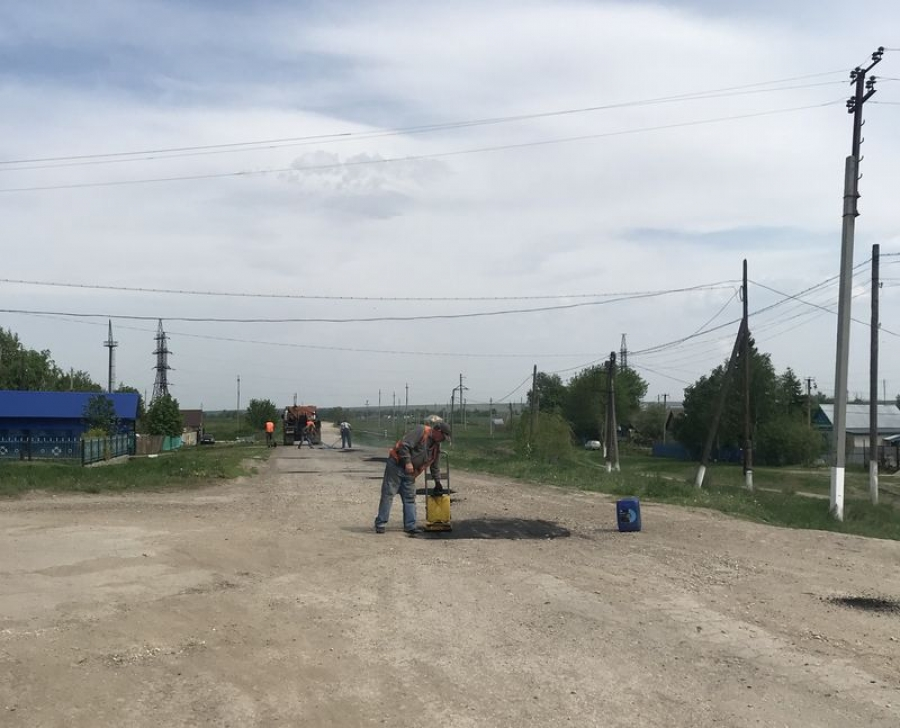 Ремонт дорог в Октябрьском МО