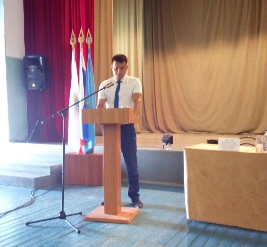 Собрание актива в Вязовском муниципальном образовании
