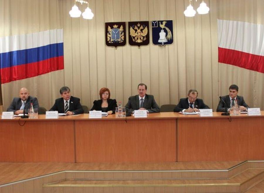 В Татищевском районе подведены итоги за 9 месяцев 2011 года