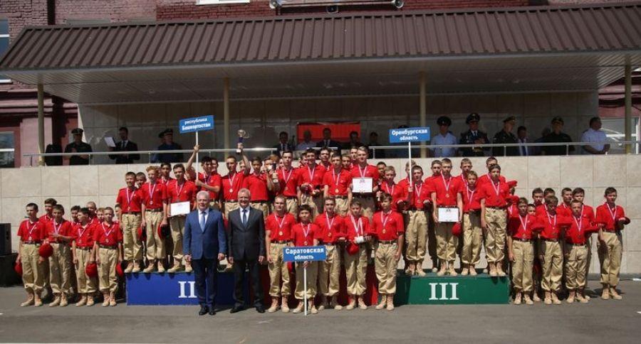 Татищевские лицеисты достойно представили район в лагере «Гвардеец -2»