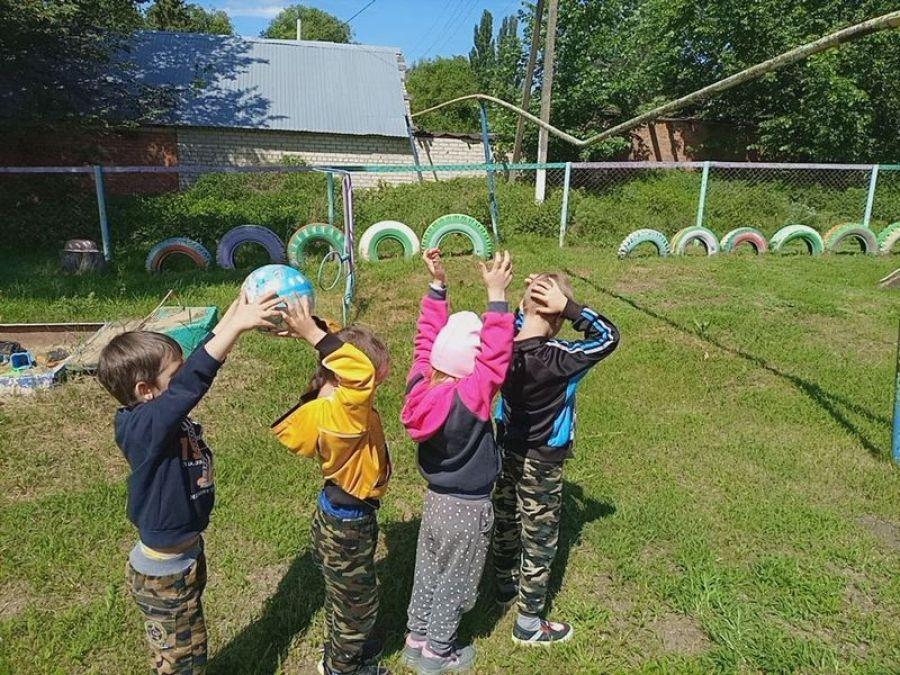 Летние забавы в детском саду