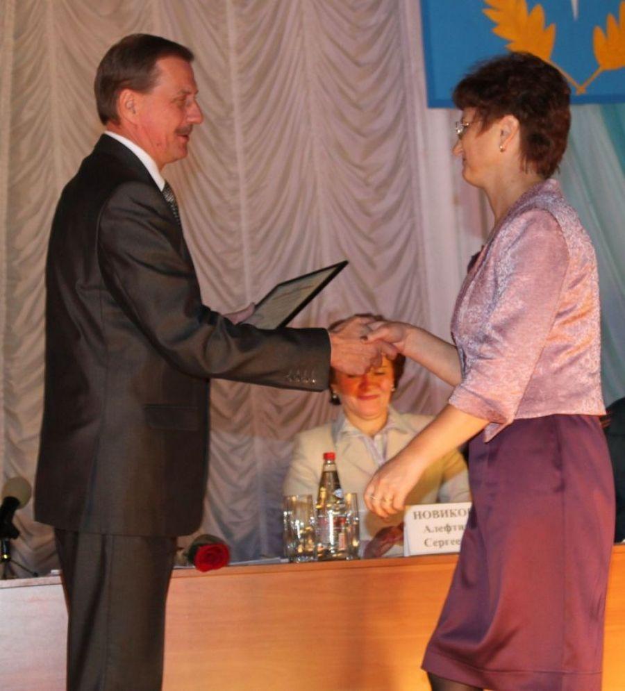 Награждение Почетной грамотой министерства экономического  развития и торговли Саратовской области