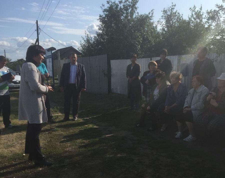 Жители п.Коминтерн приняли решение о создании кооператива