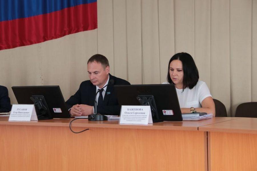 Состоялось очередное заседание административной комиссии района