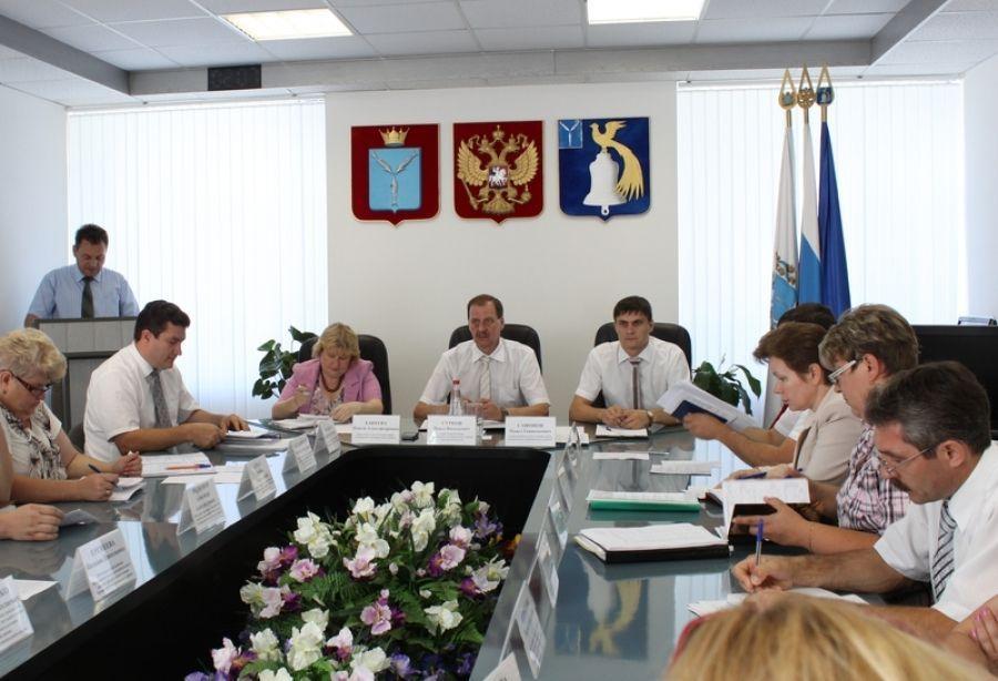 Состоялось очередное аппаратное совещание при главе администрации муниципального района