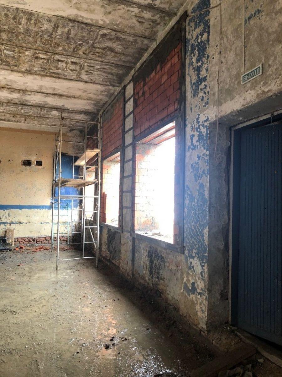 В Куликовском сельском клубе продолжаются ремонтно-восстановительные работы