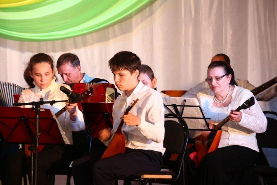 Отчётный концерт Детской школы искусств
