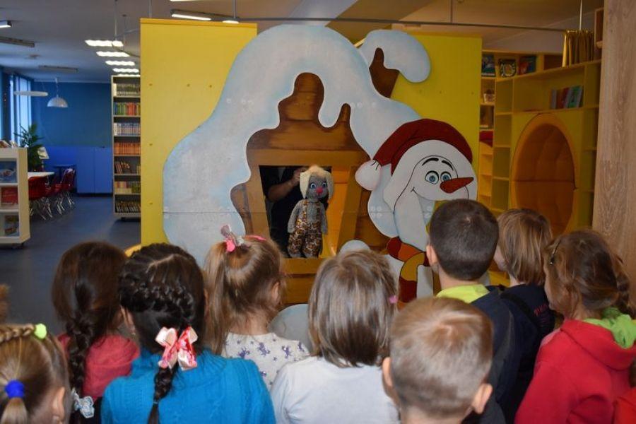 Новогодние каникулы в библиотеке