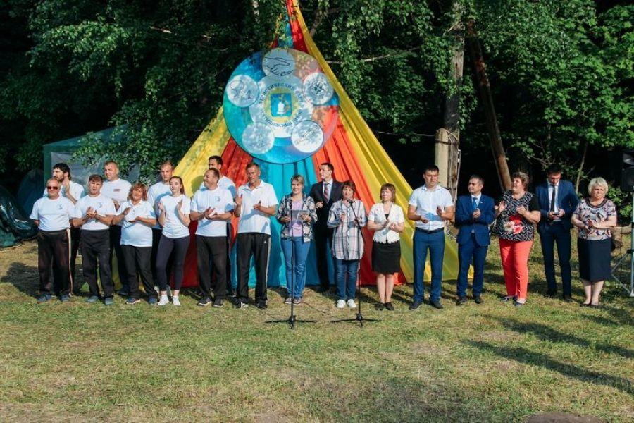 В окрестностях Вязовки начался районный слёт юных туристов