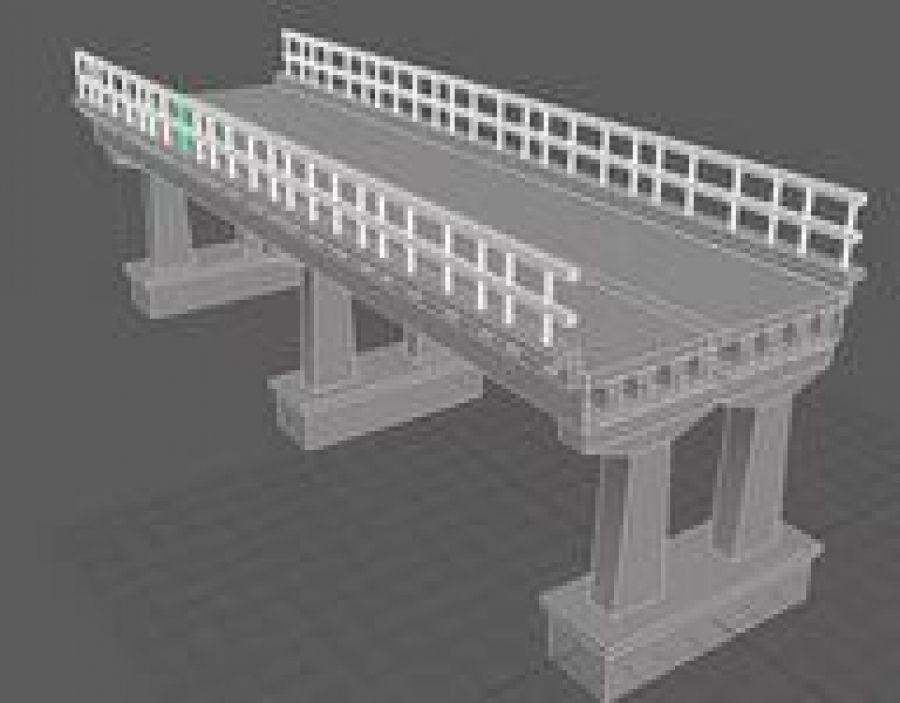 Реконструкция моста через р.Чекуриха