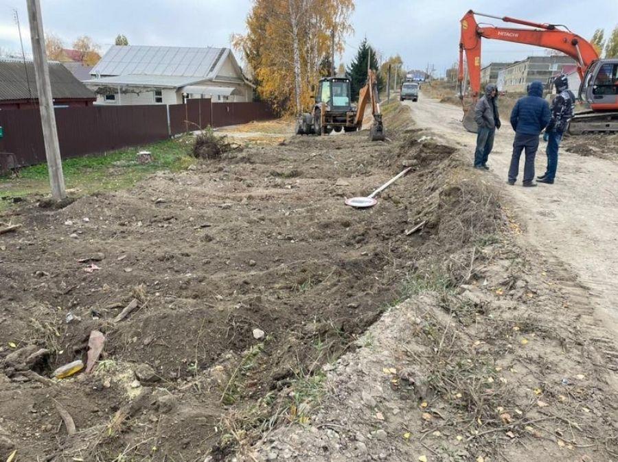 Начаты дорожно-строительные работы на ул.Кирова