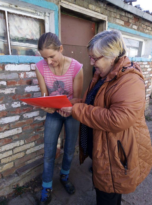 Рейд по многодетным семьям в Идолгском муниципальном образовании