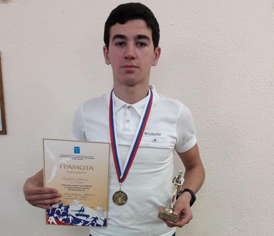 Сторожевский школьник – призер областных соревнований