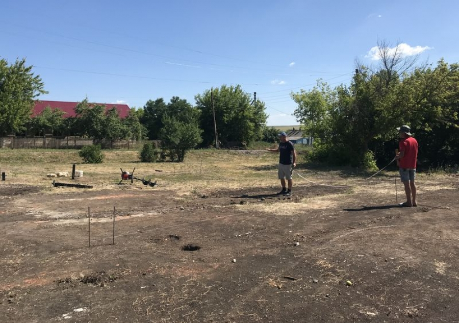 Строительство ФАПа в с.Куликовка