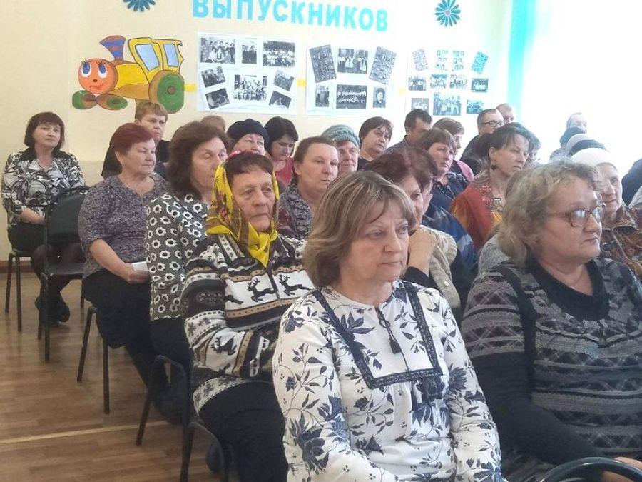 Встреча с жителями села Сокур